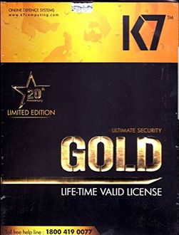 K7 Ultimate Security Gold 1 PC Antivirus (Key) Price in India