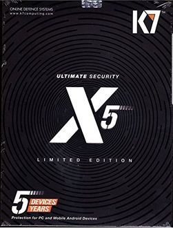 K7 Ultimate Security X5 5 PC 5 Year Antivirus (key) Price in India