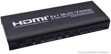 Microware HDMI 4x1 Screen Splitter Media Streaming Device Price in India