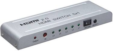 Microware HDMI 5x1 2.0 channel 4K Media Streaming Device Price in India
