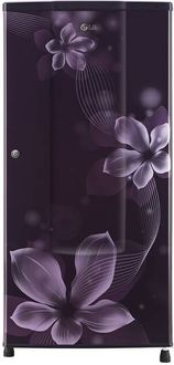 LG GL-B181RPOW 185 L 2 Star Inverter Direct Cool Single Door Refrigerator (Orchid) Price in India