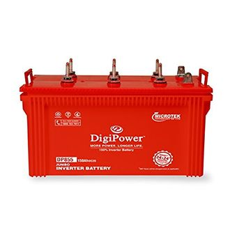 Microtek Digi Power DP-855 Jumbo 150Ah Tubular Battery Price in India