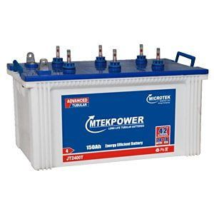 Microtek Mtek Power JT-2400T Jumbo 150Ah Tubular Battery Price in India