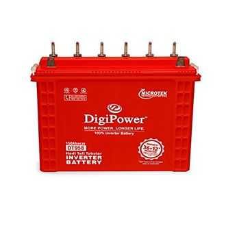 Microtek Digi Power DT-958 Tall 150Ah Tubular Battery Price in India