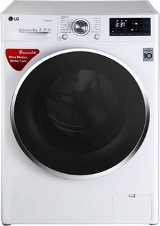 LG 8Kg Fully Automatic Front Load Washing Machine (FHT1408SWW) Price in India