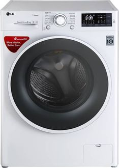 LG 6Kg Fully Automatic Front Load Washing Machine (FHT1006SNW) Price in India