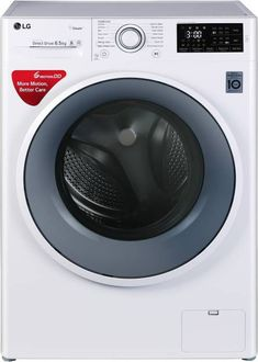 LG 6.5Kg Fully Automatic Front Load Washing Machine (FHT1065SNW) Price in India