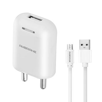 Ambrane (AWC-38) 2.1A USB Wall Charger Price in India