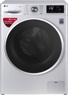 LG 6.5kg Fully Automatic Front Load Washing Machine (FHT1265SNL) Price in India