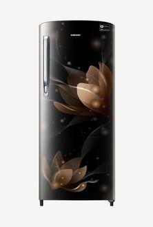 Samsung RR20N172YB8 192 L 4 Star Inverter Direct Cool Single Door Refrigerator (Saffron) Price in India