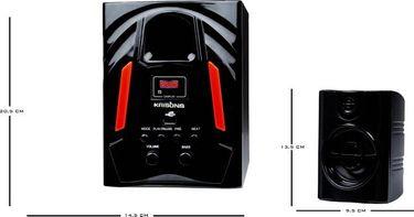 Krisons JAZZ 4.1 Channel Multimedia Speaker Price in India