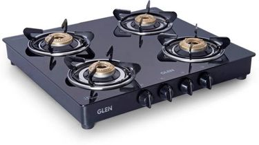Glen GL-1043 Stainless Steel Automatic Gas Cooktop (4 Burners) Price in India