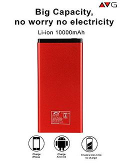 AVG Technology D409L 10000mAh Power Bank Price in India