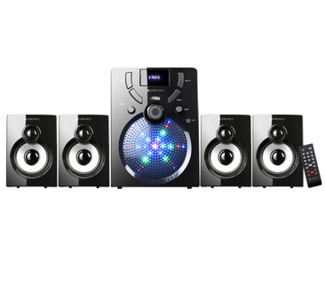Zebronics ZEB-UDAAN 4.1 Channel Multimedia Speaker Price in India