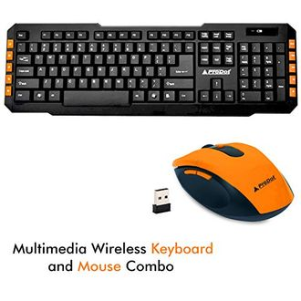 ProDot (TLC-107 175) Wireless Keyboard & Mouse Combo Price in India