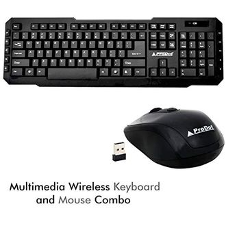 ProDot (TLC-107 165) Wireless Keyboard & Mouse Combo Price in India