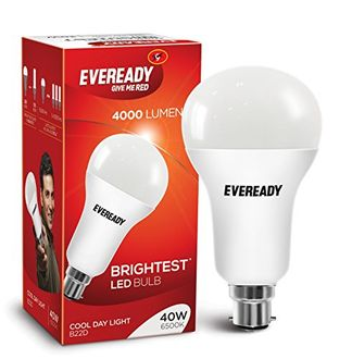 Eveready Brightest 40W B22 LED Bulb (Cool Day Light) Price in India