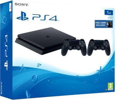 Sony PS4 1TB Gaming Console (With The Last of Us & Extra Dual Shock 4 Controller) Price in India