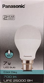 Panasonic 700 IM Life 25000 BH 7W B22 LED Bulb (Cool Day Light) Price in India