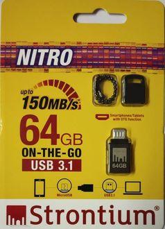 Strontium Nitro USB 3.1 64GB OTG Pen Drive Price in India