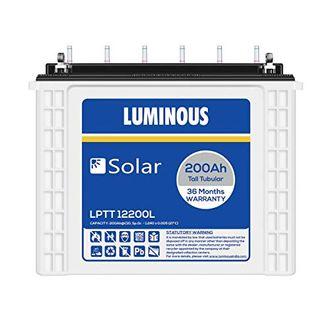 Luminous Solar LPTT12200L 200Ah Tall Tubular Battery Price in India