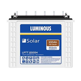 Luminous Solar LPTT12100H 100Ah Tall Tubular Battery Price in India