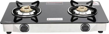 Wonderchef Ruby Glass Manual Gas Cooktop (2 Burners) Price in India