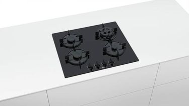 Bosch PNH6B6B10I Glass Automatic Gas Cooktop (4 Burners) Price in India