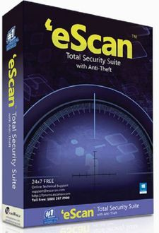 eScan Total Security Suite With Anti Theft 10 PC 1 Year Antivirus( ) Price in India