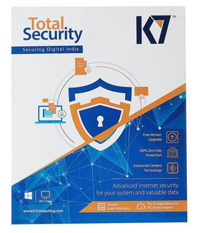 K7 Total Security 2016 3 PC 1 Year (Key Only) Price in India