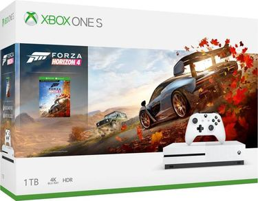Microsoft Xbox One S 1TB Gaming Console (With Forza Horizon 4 Bundle) Price in India