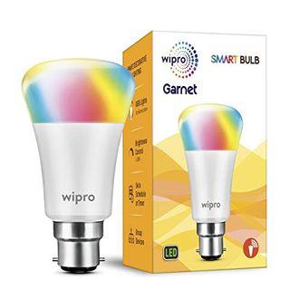 Wipro Garnet Smart 7W B22 Rainbow LED Bulb Price in India