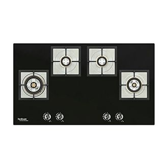 Hindware Andrea Stainless Steel Auto Ignition Gas Cooktop (4 Burners) Price in India