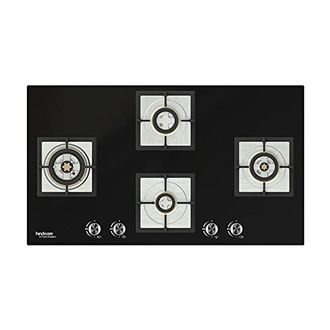 Hindware Laura 76cm Stainless Steel Auto Ignition Gas Cooktop (4 Burners) Price in India