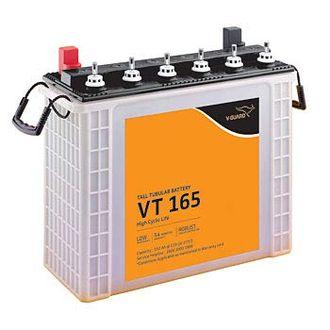 V-Guard VT-165 152Ah Tall Tubular Inverter Battery Price in India