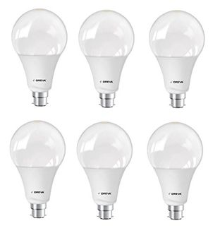 Oreva Premium 20W B22 LED Bulb (White, Pack of 6) Price in India