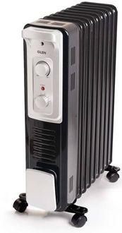 Glen 7015 9 Fins 2400W Oil Filled Radiator Room Heater Price in India