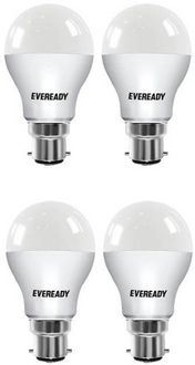 Eveready Standard 7W B22 LED Bulb (White, Pack of 4) Price in India