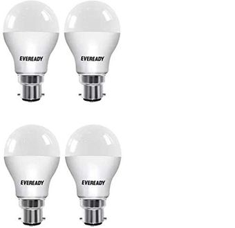 Eveready 10W B22 LED Bulb (Cool Day Light, Pack of 4) Price in India
