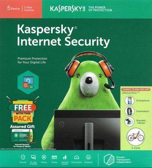 Kaspersky Internet Security 2019 5 PC 1 Year Antivirus Price in India