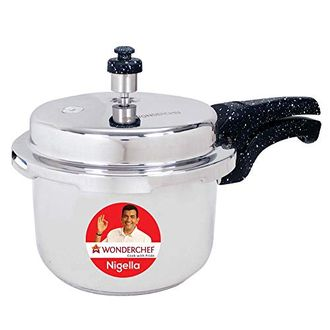 Wonderchef Nigella Stainless Steel 3 L Pressure Cooker (Induction Bottom,Outer Lid) Price in India