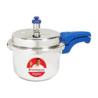 Wonderchef Nigella Stainless Steel 1.5 L Pressure Cooker (Induction Bottom,Outer Lid) Price in India