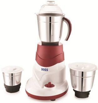 Boss B244R 550 Mixer Grinder, 3 Jars Price in India