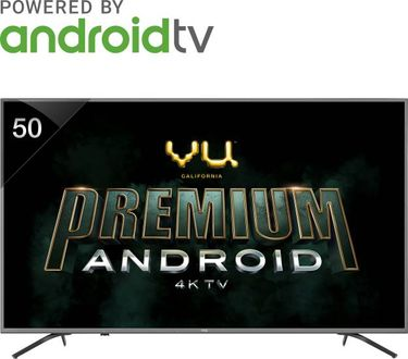 Vu Premium Android 50 Inch (50-OA) 4K Ultra HD Smart LED TV Price in India