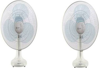 Orient Electric Electric Desk-71 3 Blade (400mm) Table Fan (Pack of 2) Price in India
