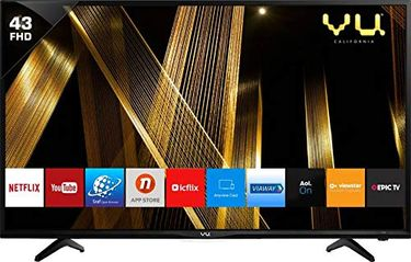 Vu 43PL 43 Inche Smart Full HD LED TV Price in India