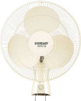Eveready WF-02 3 Blade (400mm) Wall Fan Price in India