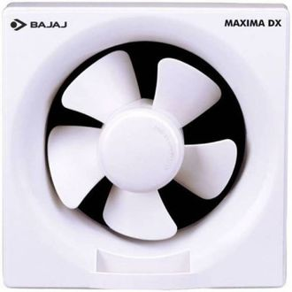 Bajaj Maxima Dx 5 Blade (200mm) Exhaust Fan(Pack of 2) Price in India