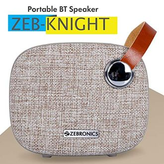 Zebronics Knight Portable Bluetooth Speakers Price in India