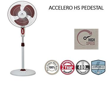 Havells Accelero 3 Blade (400mm) Pedestal Fan Price in India